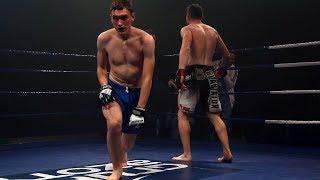 Mateusz Opêchowski (Gladiator Ostro³êka) - Piotr Brzeziñski (KK Team Wysocki)