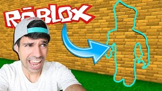 BE INVISIBLE IN ROBLOX I am a Stone Challenge in Roblox Español