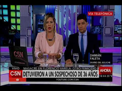C5N - Masacre: en Florencio Varela Hablan el dueño del boliche y Graciela Peyrú