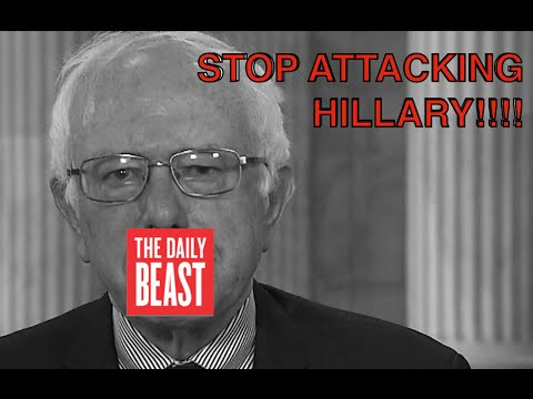 The Daily Beast's Propagandist Tirade Against Bernie Sanders Continues
