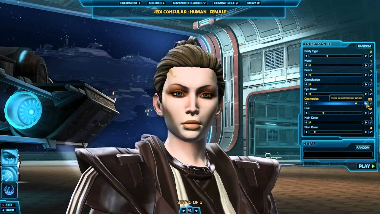 how to make characters look the same swtor