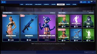 *NEW*Doublecross Skin & Fireworks Team Leader Back! Fortnite Item Shop July 4, 2019