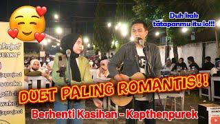 ROMANTIS BANGET!!!! Berhenti Kasihan - Kapthenpurek   Live Cover Menoewa Kopi