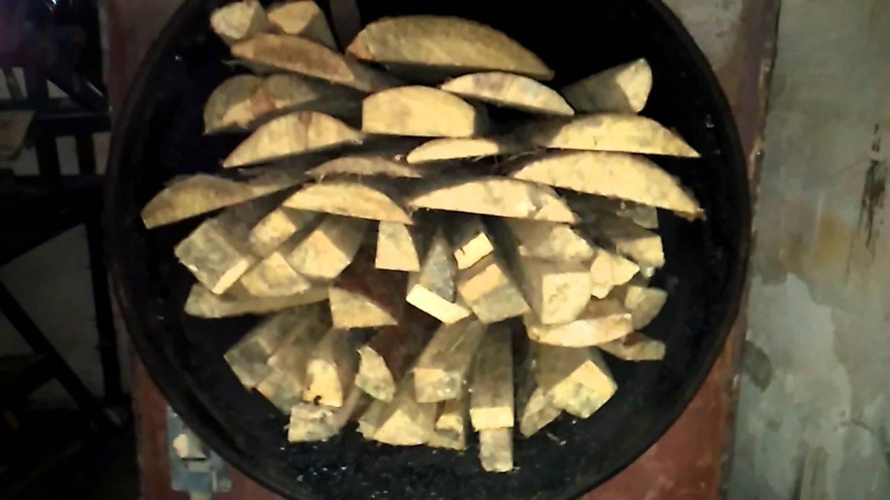 Печи углевыжигательные для производства древесного угля