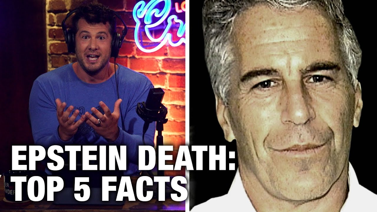 Steven Crowder EPSTEIN DEAD: 5 Hard Facts You NEED to Know! | Louder with Crowder
