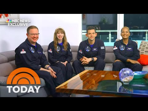 SpaceX's Inspiration4 Crew React To Space Flight