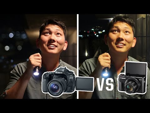 Canon 80D vs G7X mark II | Point & Shoot as good as DSLR for video?