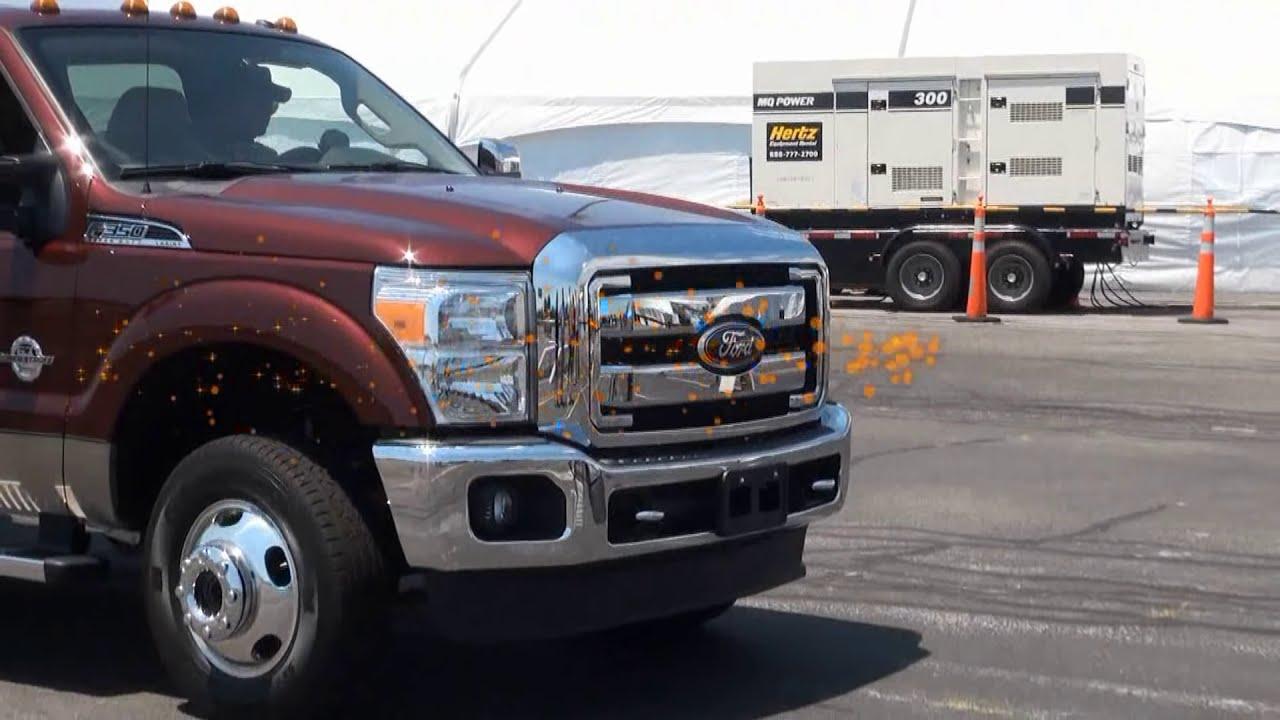 Ford F350 vs Dodge Ram vs Chevy GMC Sierra Truck Challenge MEGA