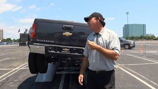 Ford F350 vs. Dodge Ram vs. Chevy GMC Sierra Truck Challenge MEGA TEST