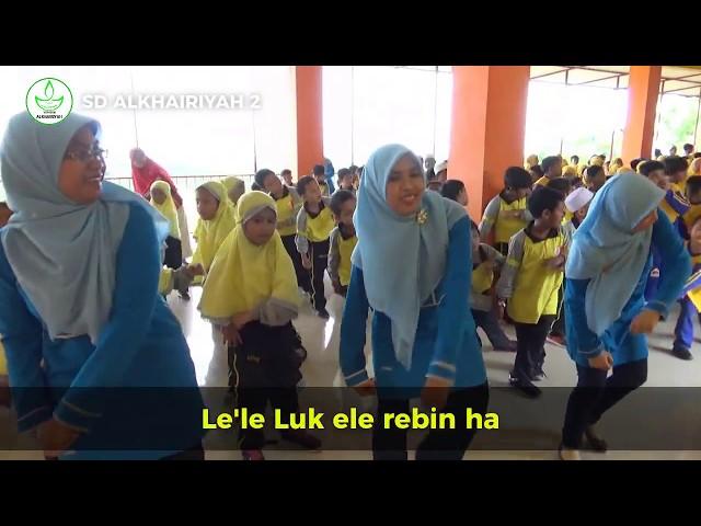 SAYGON BERGOYANG.. Lirik Lagu Gemu Fa Mi Re Putar Kiri Putar Kanan Terbaru | SD Alkhairiyah 2