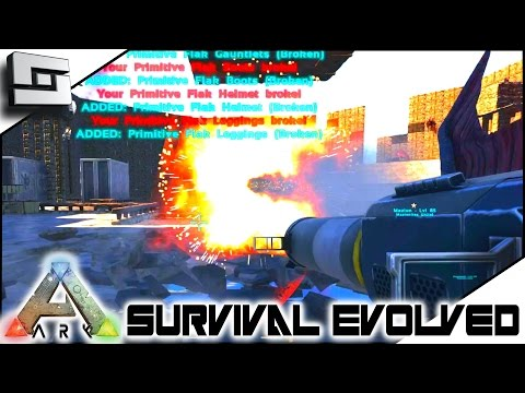 ARK: Survival Evolved - MAZION BASE RAID! S4E53 ( The Center Map Gameplay )