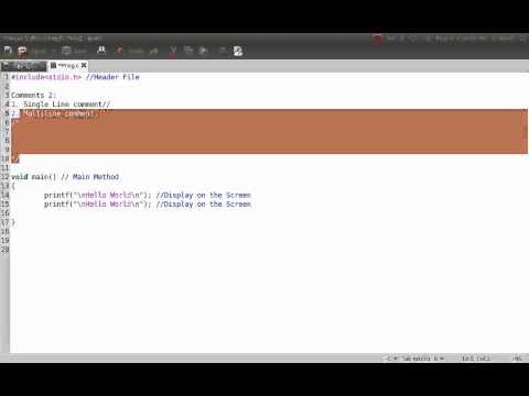 Basics of C Programming