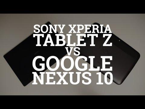 Sony Xperia Tablet Z vs Google Nexus 10