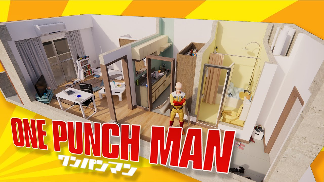 This is What One Punch Man's House Looks Like in Real Life