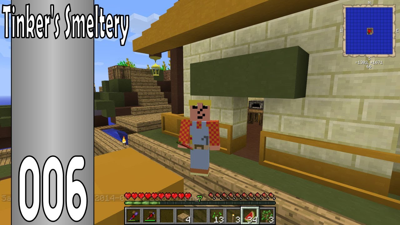 FTB Agrarian Skies – S01E06 – HOW TO Tinkers' Construct and