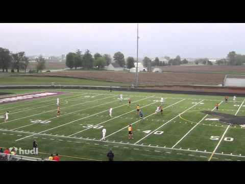 Pella Christian High School vs  Carlisle   Coach Simoes highlights 1