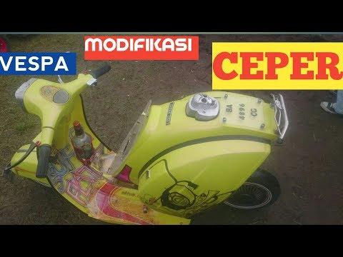 Vespa Ceper MODIFIKASI - TBSS XXIV LUBUK SIKAPIANG