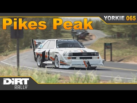 Dirt Rally: Pikes Peak (Full Tarmac) Audi Sport Quattro S1 PP
