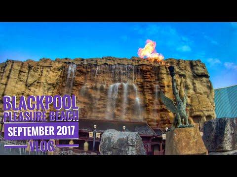 Blackpool Pleasure Beach ¦ September 2017 ¦ Vlog