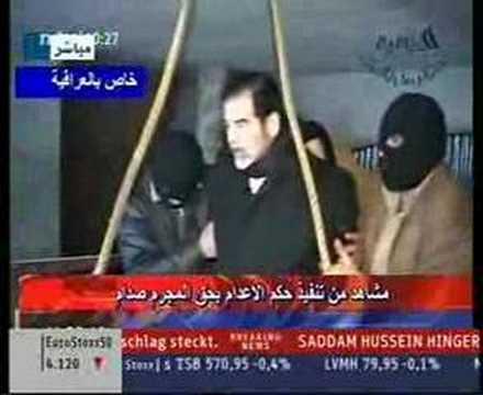 Execution of Saddam Hussein (CNN, n-tv) - YouTube