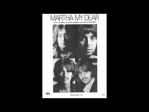 Клип The Beatles - Martha My Dear