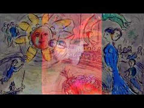 "Marc Chagall Lithographs, a ""Love Song"""