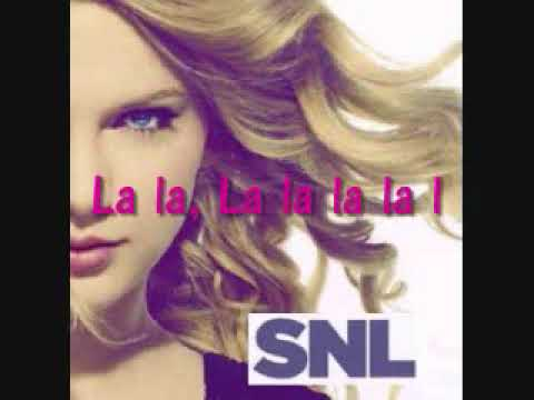 Monologue Song (La La La) - Taylor Swift SNL [Lyrics&DownloadLink]