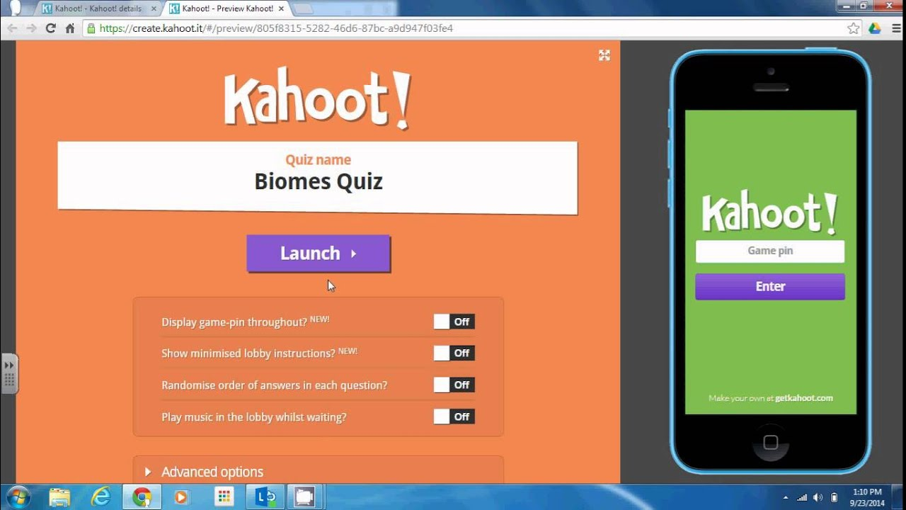 Kahoot Game Based Learning Youtube