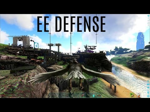 DEFENDING EE With An Argy? - Official PVP (E35) - ARK Survival Gameplay