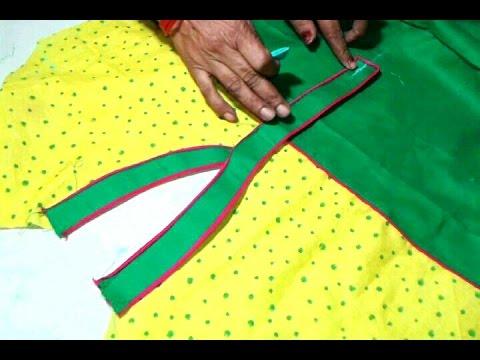 Kurti collar neck cutting and stitching in hindi