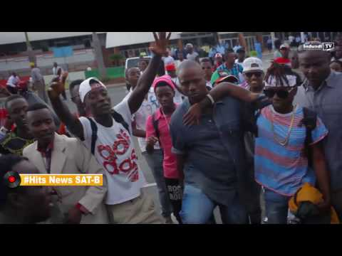 Indundi Tv Presents #Hits News Sat B SATURA arrived back in Burundi Dec 29/2016