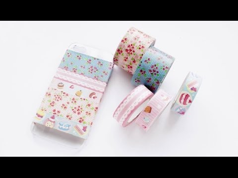 Washi Tape Phone Case DIY