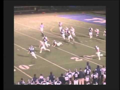 Luke DeHart #40 Jr. Football Highlights McDowell H...