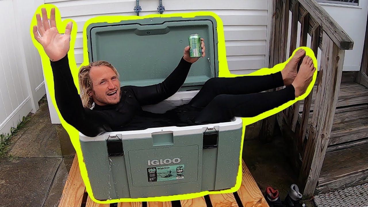 I Spent 24 Hours In My Wetsuit Challenge!