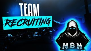 Fortnite How To Join Team NSN | Official Discord Scrims And Tryouts | New Team Recruiting