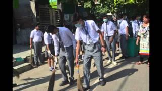 Swachh Bharat Abhiyan- St. Marks Meera Bagh 2015