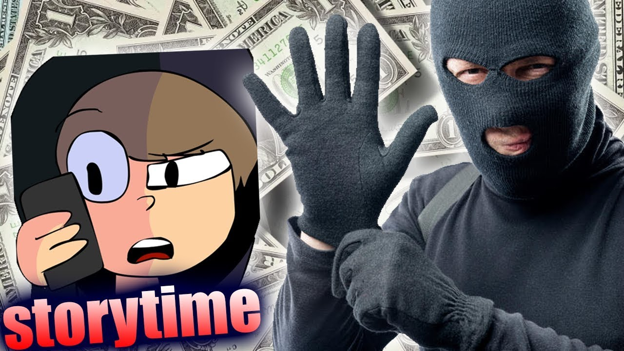 THE DUMBEST THIEF EVER TRIED TO ROB ME..