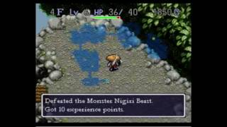 Mystery Dungeon: Shiren the Wanderer SNES Part 1