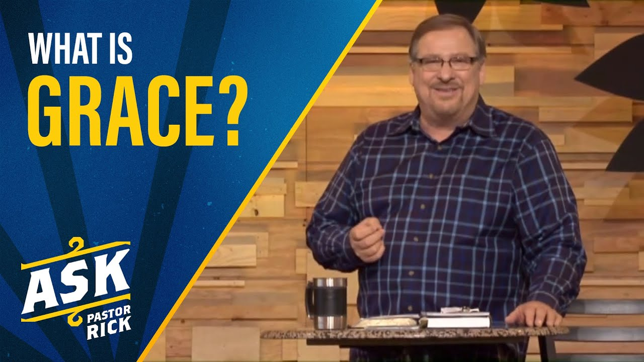 What Is Grace? (Live Your Calling)