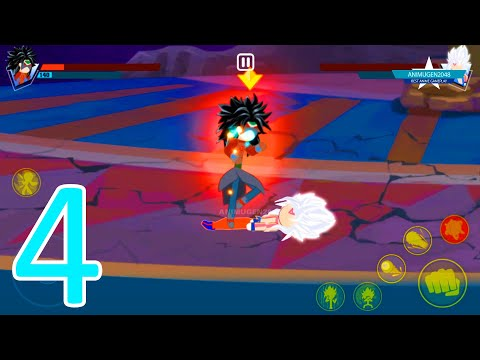 siêu anh hùng và giải đấu toàn vũ trụ hack - DARK BRYLO LV100 😈 vs😇 YOKU SSJ EVIL WHITE 🐉 Stick Battle Fight - Super Dragon Hero Tournament #FHD
