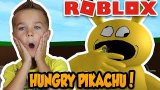 EATEN POR UN GIGANTE MUY HUNGRY PIKACHU en ROBLOX!