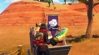 Fortnite Battle Royale - Week 2 Secret Banner Location (Season 6 Hunting Party Challenges)