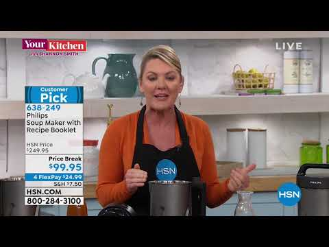 philips-soup-maker-with-recipe-booklet