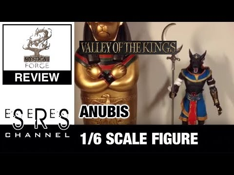 Mystical Forge Valley Of The Kings 1/6 Scale Anubis