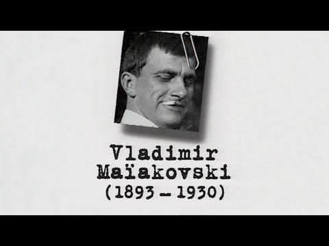 Vladimir MAÏAKOVSKI – Un siècle d'écrivains : 1893-1930 (DOCUMENAIRE, 1998)