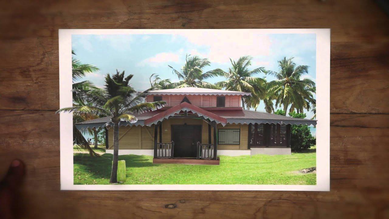 Casa Chic Martinique Spécialiste de la construction de maisons en bois YouTube # Maison En Bois Martinique