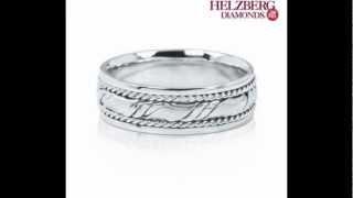Wedding rings at Helzberg Diamonds.