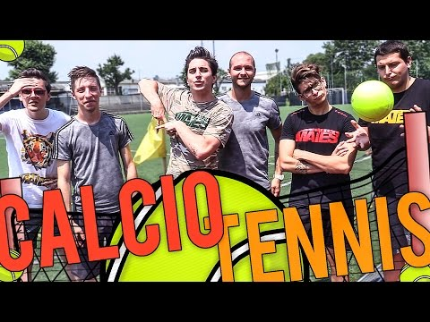 TENNIS FOOTBALL CHALLENGE - ROVESCIATE E FAIL EPICI!! w/ Mates e 2 Bomber
