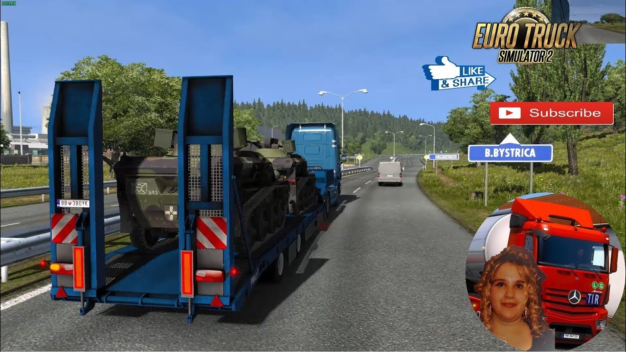 Euro Truck Simulator 2 (1 35) Military Cargo Pack by Jazzycat v 3 4 + DLC's  & Mods