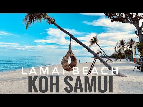 Lamai Beach 11 5 2021 | KOH SAMUI | Samui German Tour